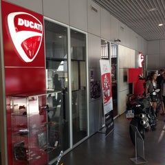Photo taken at Ducati Store by Pongvit S. on 4/12/2014