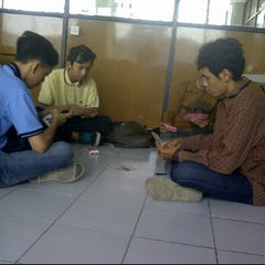 Photo taken at STIE Y.A.I Jakarta Pusat by Arga W. on 11/1/2012