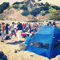 Photo taken at Ocean Beach by Zahid Z. on 6/2/2013
