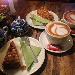 Photo taken at Café Resonanz by Alex B. on 3/1/2013