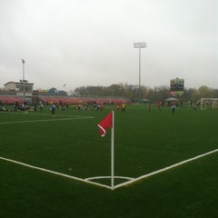 Photo taken at Uihlein Soccer Park by The Gouda Girls Truck on 10/14/2012