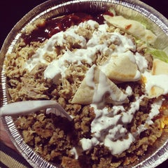 Photo taken at The Halal Guys by Kevin L. on 12/2/2012