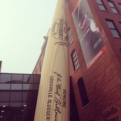 Photo taken at Louisville Slugger Museum & Factory by Chase S. on 3/30/2013