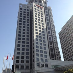 Photo taken at The Westin Bund Center, Shanghai by Thomas Y. on 12/6/2012