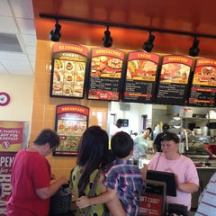 Photo taken at Taco John's by Jon T. on 8/4/2013