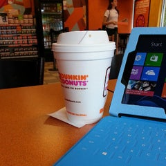 Photo taken at Dunkin Donuts by J M. on 6/12/2013