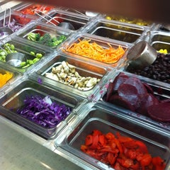 Photo taken at Salad Creations by sugardaddie.com on 2/6/2013