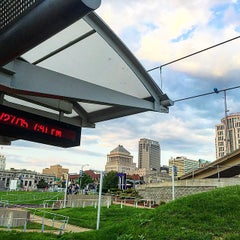 Photo taken at MetroLink - Civic Center Station by Phil S. on 6/28/2015