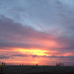 Photo taken at Playa de Canoa by Laurian G. on 1/26/2016