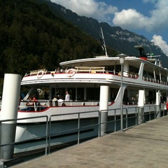 Photo taken at Harbour Interlaken Ost by Yeonsu H. on 9/9/2012