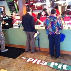 Photo taken at The Pita Pit by Ryan H. on 6/12/2012