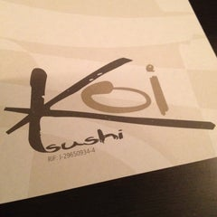 Photo taken at Koi Sushi by German Andres J. on 4/24/2012