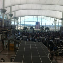 Photo taken at USO - Denver Intl Airport by Jenn on 5/9/2012