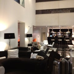 Photo taken at Hotel AXOR Barajas****plus by Bart T. on 5/20/2012
