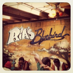Photo taken at Ria's Bluebird by Kenneth U. on 4/13/2012