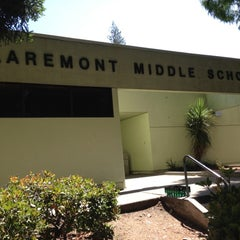 Photo taken at Claremont Middle School by Cooki M. on 6/19/2012