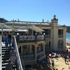 Photo taken at Café de La Concha by TheCucos on 7/16/2012