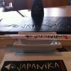 Photo taken at Japanika (ג'פניקה) by Adi G. on 3/2/2012