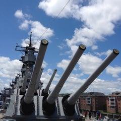 Photo taken at USS Wisconsin (BB-64) by Paul Z. on 6/16/2012