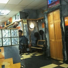 Photo taken at Tight Image Barber Shop by Caesar F. on 5/22/2012