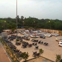 Photo taken at Qutab Minar Metro Station by Pavan K. on 4/28/2012