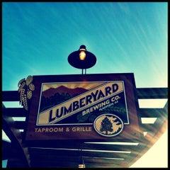 Photo taken at Lumberyard Brewing Co. by Mathew . on 6/20/2012