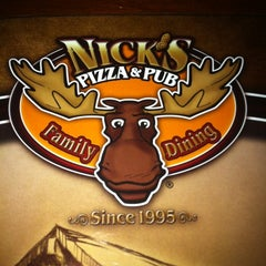 Photo taken at Nick's Pizza & Pub by Chris S. on 2/19/2012