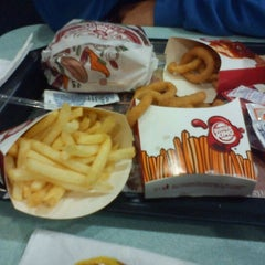 Photo taken at Burger King by Gina R. on 4/13/2012