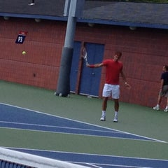 Photo taken at Practice Courts (1-5) - USTA Billie Jean King National Tennis Center by Natalie S. on 8/29/2012