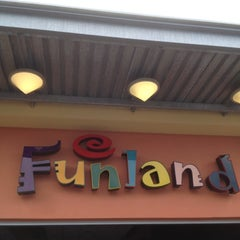 Photo taken at Funland Entertainment Center by Michael Z. on 8/8/2012
