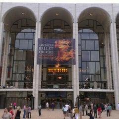 Photo taken at American Ballet Theatre at the Metropolitan Opera House by Matthew S. on 6/19/2012