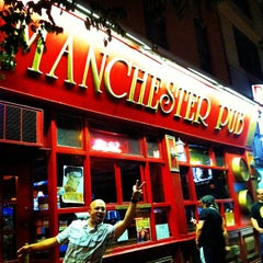 Photo taken at Manchester Pub by Alexander K. on 8/18/2012