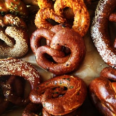 Photo taken at Sigmund Pretzel Shop by Ariel N. on 8/2/2012