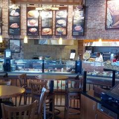 Photo taken at Paradise Bakery & Café by John C. on 8/26/2012