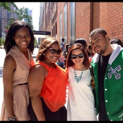 Photo taken at 106 & Park Studio by Chinh D. on 6/28/2012