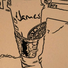 Photo taken at Starbucks by JamesB ™ on 5/14/2012