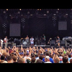 Photo taken at Beale Street Music Festival- Bud Light Stage by Russell C. on 5/5/2012