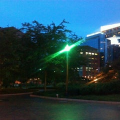 Photo taken at The Rose Kennedy Greenway by Allan K. on 6/25/2012