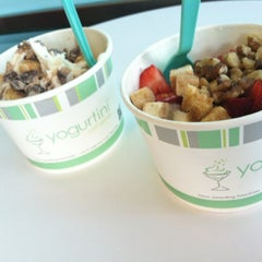 Photo taken at Yogurtini by Diana S. on 6/20/2012