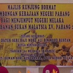 Photo taken at Pejabat Ketua Menteri Melaka by anuar o. on 5/24/2012