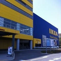 Photo taken at IKEA 港北 by Nobu K. on 4/24/2012
