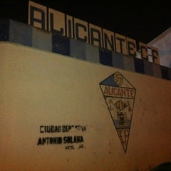 Photo taken at Ciudad Deportiva Alicante F.c. by Jorge on 9/11/2012