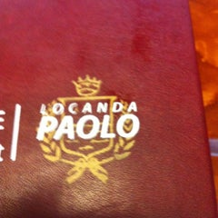 Photo taken at Locanda Paolo by Yoly C. on 3/30/2012