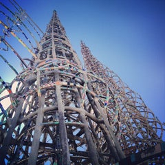 Photo taken at Watts Towers of Simon Rodia State Historic Park by Ronda B. on 9/1/2012