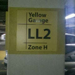 Photo taken at Galleria Yellow Garage by Garvin W. on 2/10/2012