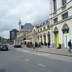 Photo taken at Gare de Namur by Maxime C. on 4/23/2012