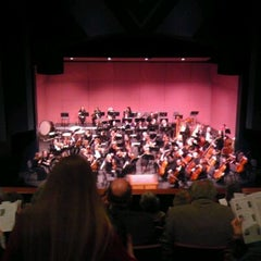 Photo taken at The Craterian Theater at The Collier Center for the Performing Arts by David C. on 3/4/2012