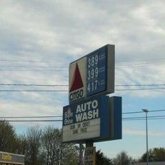 Photo taken at Citgo by Christine M. on 4/12/2012