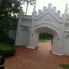 Photo taken at Fort Canning Park by Yola on 3/7/2012