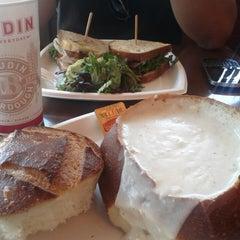 Photo taken at Boudin Bakery Café Embarcadero by Audrey V. on 7/24/2013